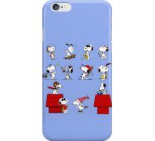 Snoopy - All characters iPhone Case/Skin