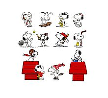 Snoopy - All characters Photographic Print