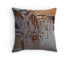 A Bevy of Buggies, Junee, NSW, Australia  Throw Pillow