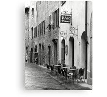 Bar Firenze Canvas Print