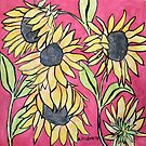 Sunflowers II by Alexandra Felgate