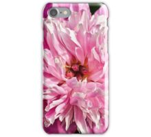 Pink Double Peony iPhone Case/Skin