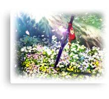Yuuki's Sword Canvas Print