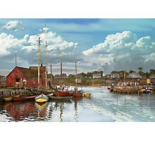 Boat - Rockport Mass - Motif Number One - 1906 Photographic Print