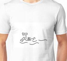 divers dip oxygen Unisex T-Shirt