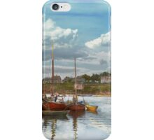 Boat - Rockport Mass - Motif Number One - 1906 iPhone Case/Skin
