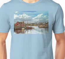 Boat - Rockport Mass - Motif Number One - 1906 Unisex T-Shirt