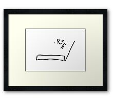 tennis Framed Print