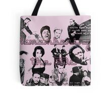 50s Collage Tote Bag