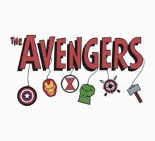 The new Avengers design! Kids Clothes