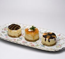 Single Serving Cheese Cakes by wolftinz