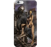 Steampunk Painting 007 iPhone Case/Skin