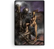 Steampunk Painting 007 Canvas Print