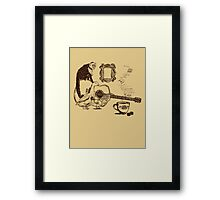 90s New York Still Life Framed Print