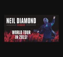 Neil Diamond World tour 2015 by wardana