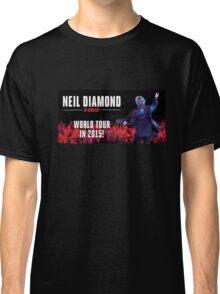 Neil Diamond World tour 2015 Classic T-Shirt