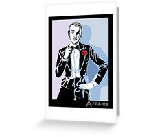 Fred Astaire Portrait Greeting Card