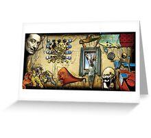 Dali Collage Greeting Card