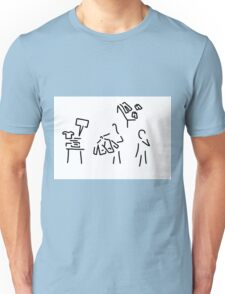 shop assistant fashion load Unisex T-Shirt