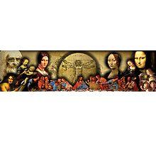 Da Vinci Collage Photographic Print