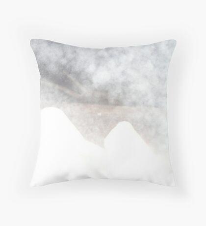 Esteemknees Mountains Throw Pillow