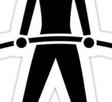 Experiment In Progress - Weightlifting Sticker