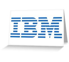 IBM Greeting Card
