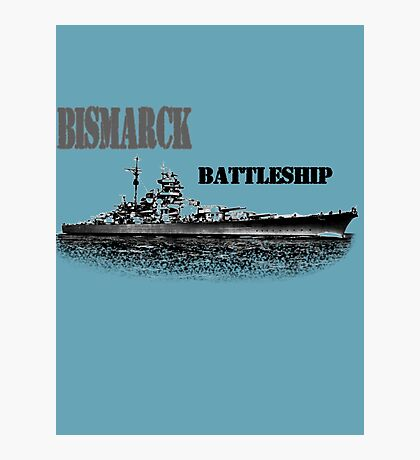 Battleship Bismarck Photographic Print