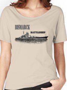 Battleship Bismarck Women's Relaxed Fit T-Shirt