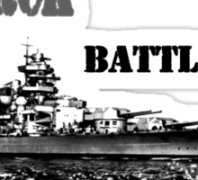 Battleship Bismarck Sticker