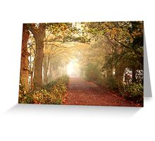 Forest Street Greeting Card