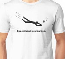 Experiment In Progress - Volleyball Unisex T-Shirt