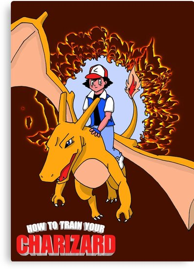 How to Train Your Charizard by Rainey April