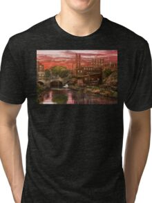 City - Richmond VA - After the fighting stopped - 1865 Tri-blend T-Shirt