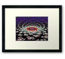 """""""Galactic Flower' Framed Print"""