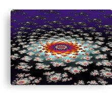 """Galactic Flower' Canvas Print"