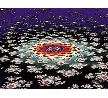 """Galactic Flower' Photographic Print"