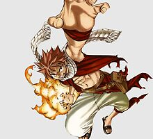 Natsu Fairy Tail by Athen Stringer