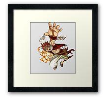 Natsu Fairy Tail Framed Print