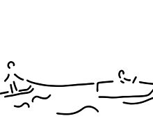 water-ski boat waterski by lineamentum
