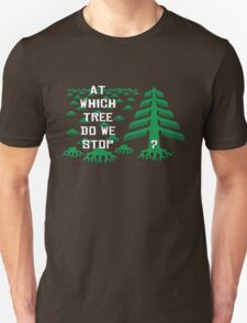 At which tree do we stop? T-Shirt