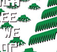 At which tree do we stop? Sticker