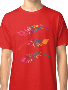 Stained Glass Feathers Classic T-Shirt