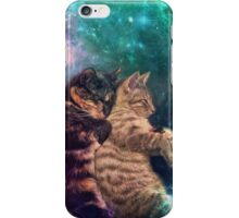 Tortilla and Feivel - Snuggles in Space iPhone Case/Skin