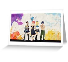 Fairy Tail Friends  Greeting Card