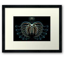 'Moonform, Humankind' Framed Print