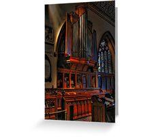 Organ Pipes Greeting Card
