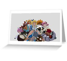 Fairy Tail Lucy and Spirits Greeting Card
