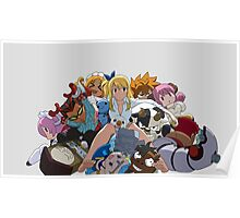 Fairy Tail Lucy and Spirits Poster