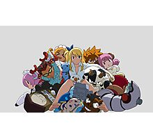 Fairy Tail Lucy and Spirits Photographic Print